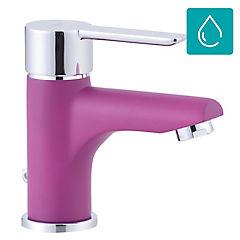 Grifo lavatorio rosado
