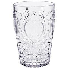Vaso bajo transparente