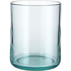 Vaso bajo acrílico transparente
