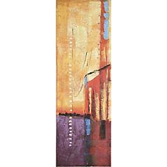 Oleo abstracto 120x40cm