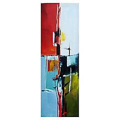 Oleo abstracto 120x40 cm