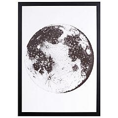 Cuadro Enmarcado Luna 50x35 cm