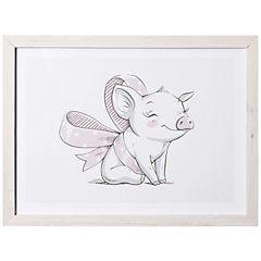 Cuadro Enmarcado Pigy 40x30 cm