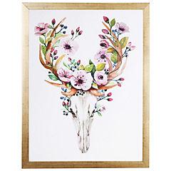 Cuadro Enmarcado Flowerhorns 40x30 cm