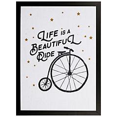 Cuadro Enmarcado Ride 40x30 cm