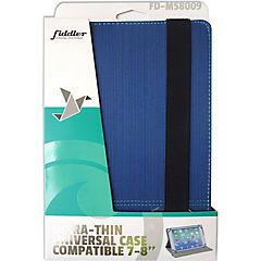 Carcasa textura universal 7-8 azul