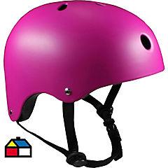 Casco onwheels rosado talla M