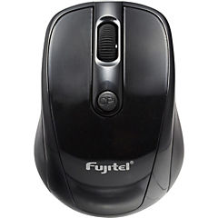 Mouse 2.4 G wireles 800 DPI negro