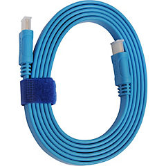 Cable HDMI 1.8 mts , 4k/3d azul