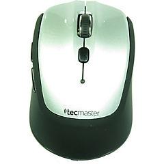 Mouse inálambrico 5 botones gris/negro