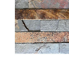 Piedra pizarra oxidada 15x60 0.63m2