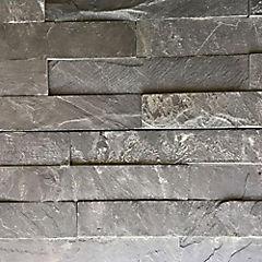 Piedra pizarra negra 15x60 0.72m2