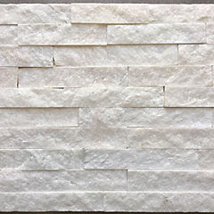 Piedra cuarzo blanco 15x60 0.63m2