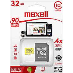 Micro Sd 32 Gb Cl10 Con Adaptador Uhs-1