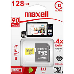 Micro Sd 128 Gb Cl10 Con Adaptador Uhs-1
