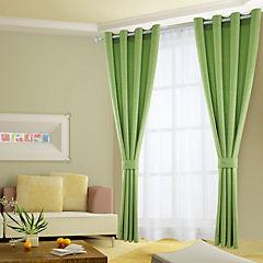 Combo cortinas y velos Martina 140x220 cm verde