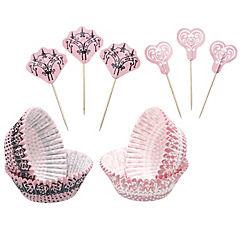 Set moldes de papel + adornos encaje 48 uds. sweetly does it