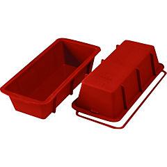 Molde silicona rectangular 26 cms.