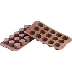 Molde silicona chocolate praline