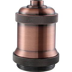 Lámpara de colgar Metal Soquete Industrial Cobre