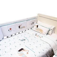 Cobertor cuna perritos 145x110
