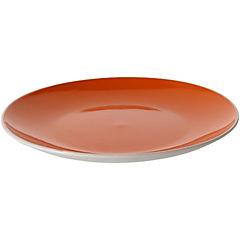 Plato comida de 26 cm naranjo