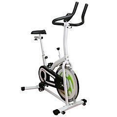Bicicleta Spinning blanca