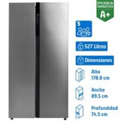 MIDEA - Refrigerador side by side 527 litros gris