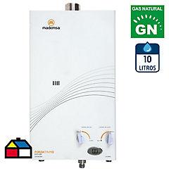 Calefont 10 litros gas natural