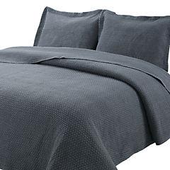 Quilt stonewash gris