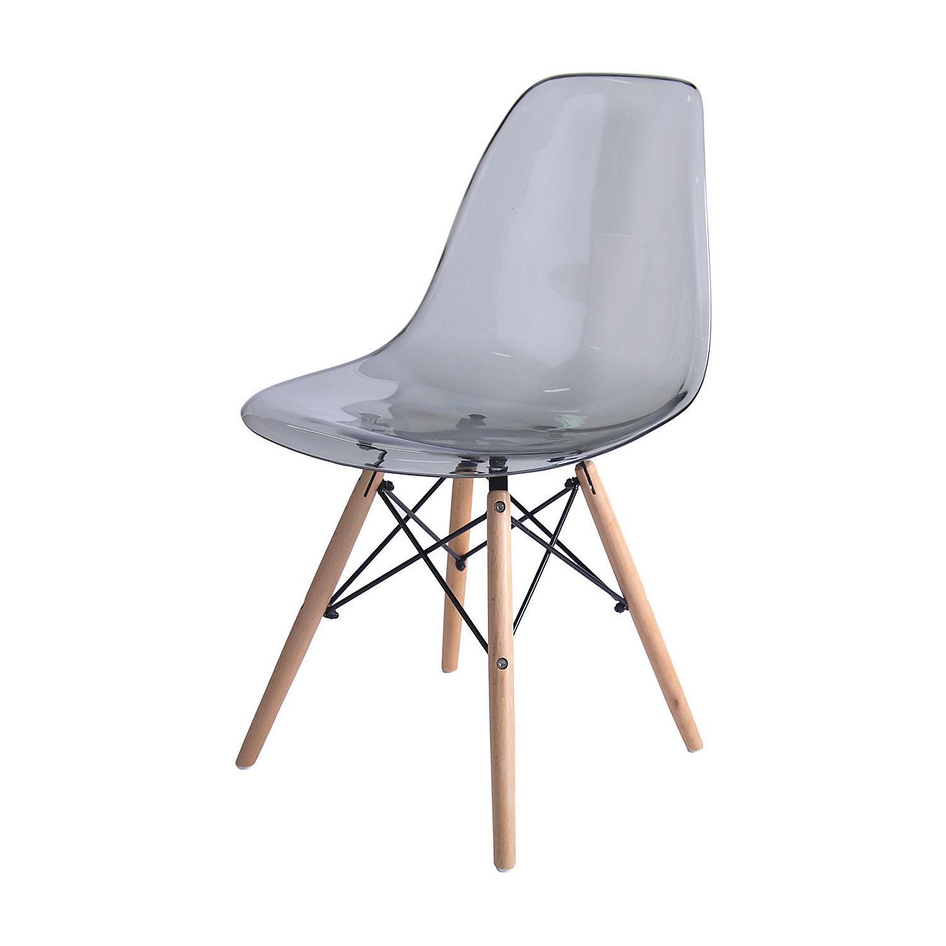 a92547288 Silla Eames transparente gris - Sodimac.com