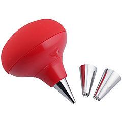 Decorador cupcake silicón rojo