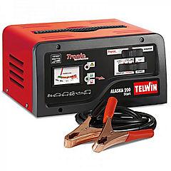 Cargador de batería part, monofás. carga 12/24v 15a; partida 150/200a
