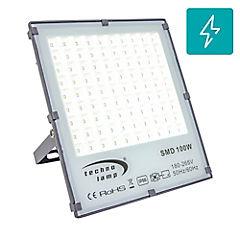 Proyector de área led 100w 5000k 10000lm ip66 ik10 dl