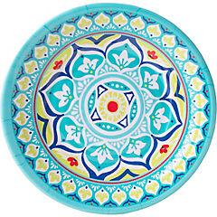 Plato melamina 21 cm colores variados