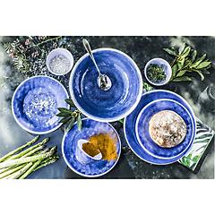 Plato melamina 21 cm Azul