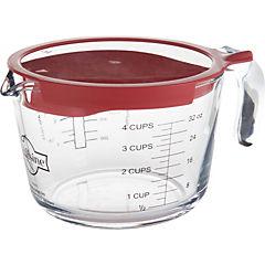 Jarro 1 litro con tapa