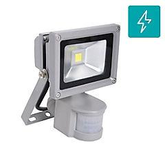 Foco proyector de área Led SEC con sensor 10 W frío