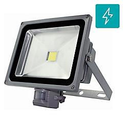 Foco proyector de área Led SEC con sensor 50 W frío