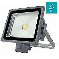 Foco proyector de área Led SEC con sensor 20 W frío