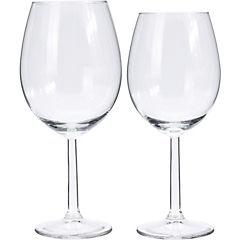 Set 12 copas vidrio vino