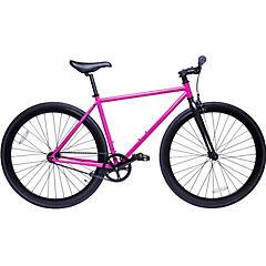 Bicicleta urbana 28 rosa profundo S