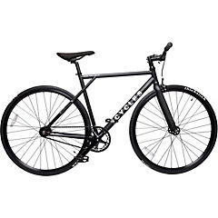 Bicicleta mensajera aro 28 liviana negra M