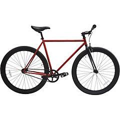 Bicicleta urbana 28 rojo cobrizo matte S