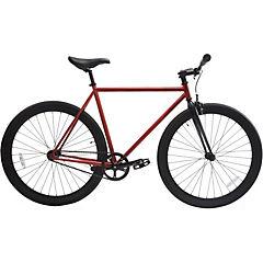 Bicicleta urbana 28 rojo cobrizo matte M