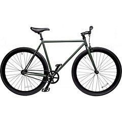 Bicicleta urbana aro 28 verde oscuro M