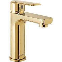 Monomando lavatorio marsella dorado