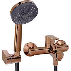 Monomando tina ducha arona cobre