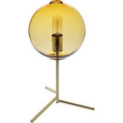 Lámpara de mesa ámbar E27 25 W