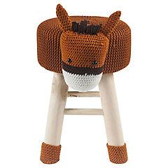 Pouff caballo 27x35x44 cm
